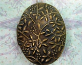 Tree Branch Motif Pendant, Metal - Free Shipping