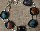 Dichroic Link Bracelet
