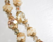 Champagne Glass and All that Glitters Necklace