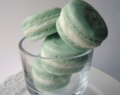 Macaron Soap - French Macaroon Goat Milk Soap - Almond Scented - Pale Green - Gift for Her - Easter gift - Novelty - fake food - shaped soap