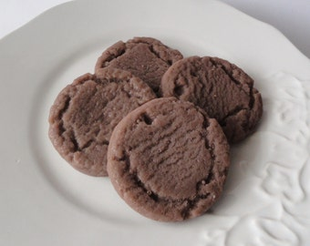 Dark Chocolate Sugar Cookies - Glycerin Soap Gift Set - Birthday Gift - Gift for Her - Teen  - fake food - Shaped Soap - Mothers Day
