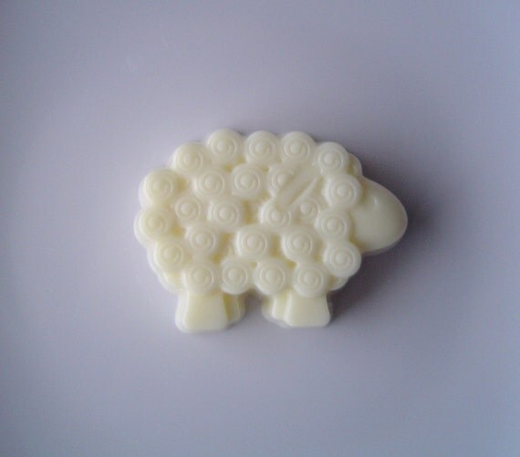French Vanilla Scented Sheep -Goat's Milk Soap