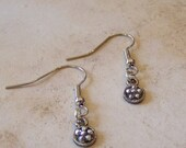 Silver Dainty Sparkle (Boucles d'Oreilles) Earrings