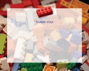 Building Block thank you notes