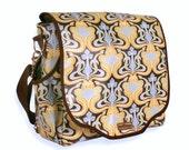 Miranda II Messenger/Backpack Combo Diaper Bag - Glam