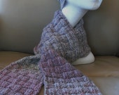 PATTERN - Hat and Scarf Set - Woven Weave (2patterns)