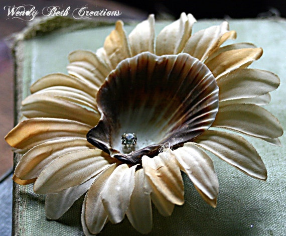 Shellina - Mermaid Trinkets - Hair Clip Fascinator