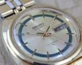 Vintage Gents Seiko Automatic Movement Watch Model 7006-7109 circa 1970s