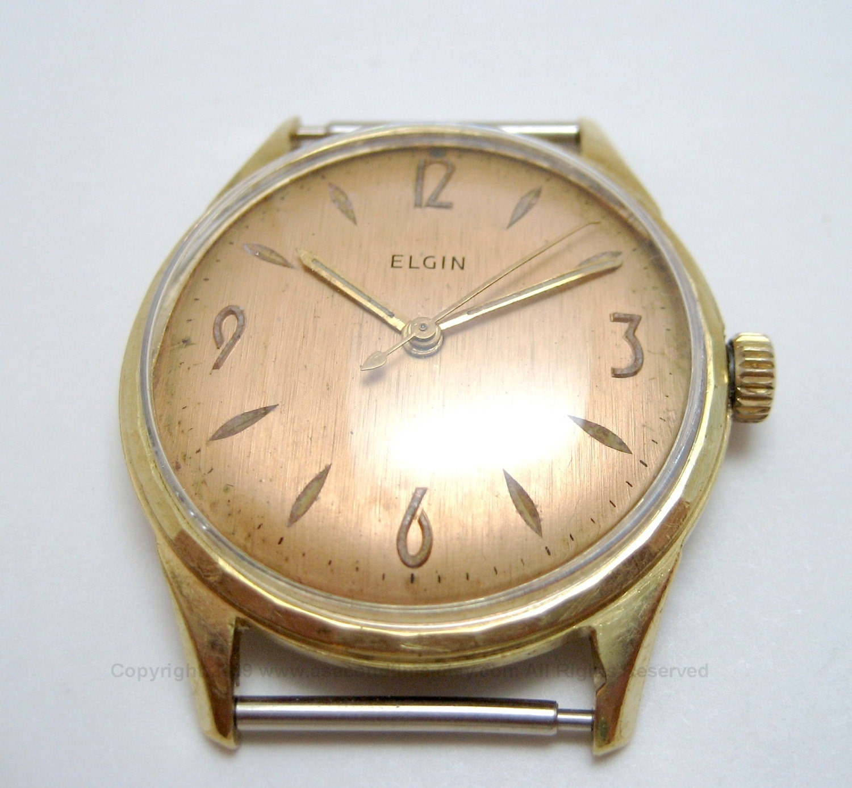 Vintage Elgin 17 Jewel Shockproof Swiss Made Watch Free