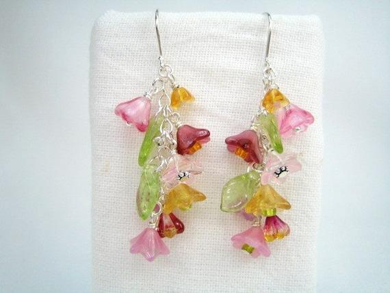 Cascade of Flowers Earrings