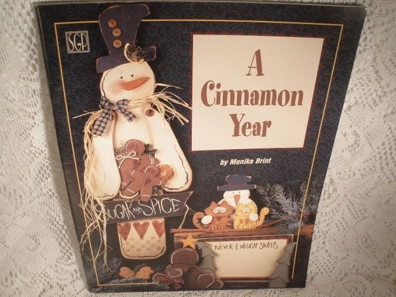 A CINNAMON YEAR by Monika Brint - Softcover Paint Book