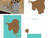 Custom Dog Silhouette Option One Subject