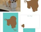 Custom Dog Silhouette Option One Subject