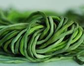 Mossy Fields Palette Silk Knot Bundle of Ten 2mm Strands