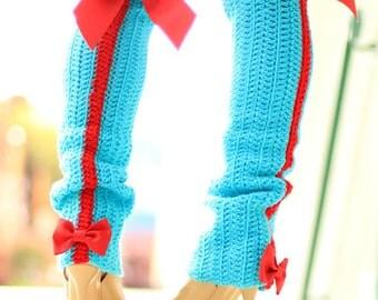 High Fashion Leg Warmers - Vixen Leggings with Bows