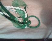 St. Patricks Day hair ties
