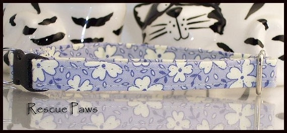 Leiko Lavender Blue Cat Collar