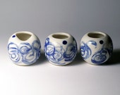 Mini Porcelain Vases - Set of 3 - SALE