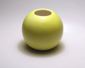 Fun Yellow Vase