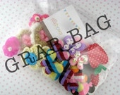 GRAB BAG of 30 Appliques for Hair Clips