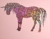 UNICORN Vinyl Decal or Sparkle Pony