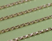 Wholesale Gold Filled Chain - Petite Rolo Chain - Save 15-25% on wholesale lengths