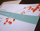Sample - Bella Blossom Invitation Suite