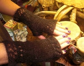 Two Times The Lace Knitted Fingerless Gloves Pattern