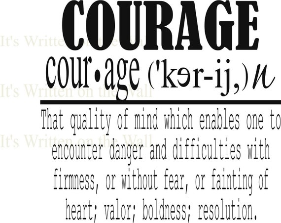 define bravery essay The word bravery can often be interchanges with the words of courage, or daring,  but what defines courage the merriam-webster online dictionary states:.