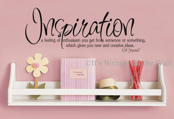 Inspiration definition craft room decor art studio decor for Decor definition