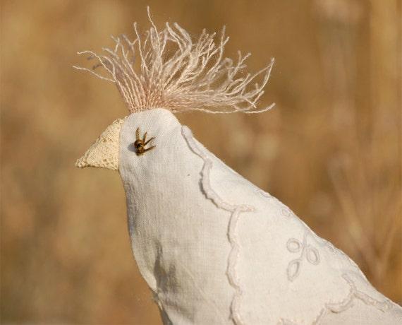 Zelda - Lavender Sachet - lovingly known as Pigeon Scraps