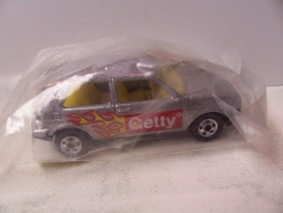 VW Golf gti 1992 Mattel Hot Wheels Getty promo toy diecast car