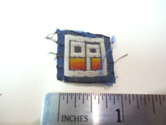 1980s OP logo surf wear shorts clothing wallet label tag