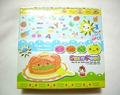 Cute Kawaii Little Note Pad Dessert Food Happily