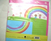 Bright and Beautiful Over The Rainbow - Cute Kawaii Letter Set by nt-tree