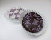 Designer LAVENDER BUTTERFLIES Chocolate Covered Oreo Cookies