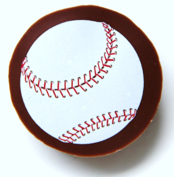1 Dozen PLAY BALL Chocolate Covered Designer Oreos -Baseball Sports Fathers Day Boy Gift Party Favor Spring Bachelor