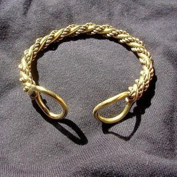 Celtic Torc  Bracelet men mans warrior
