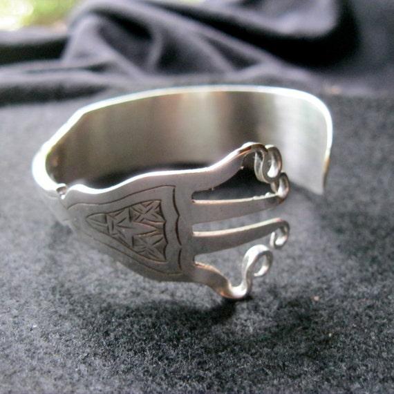 Bracelet Fork silver Knife.  Fishknife Fork