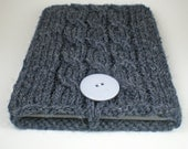 Nook Simple Touch sleeve in Charcoal Gray
