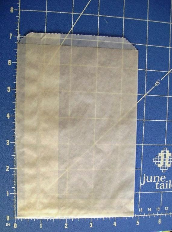 """Glassine Bags-Bulk-150 Bags-4.75"""" x 6.75""""-Crafting-Food"""