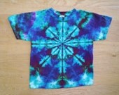 Youth Large Star Tie Dye