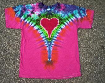 5X Tie Dye Heart