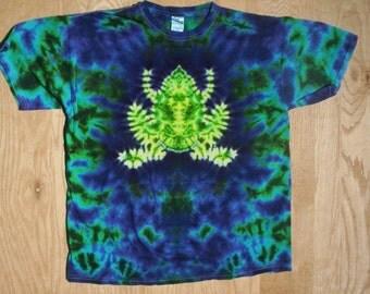 2X - 5X Frog Tie Dye Choose Size