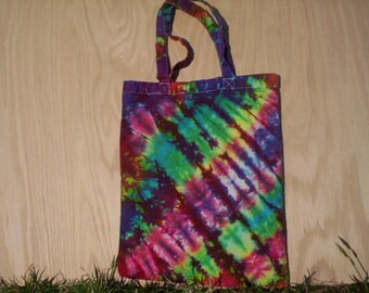 Colorful Tie Dye Tote