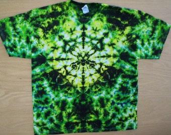 Green Tourmaline Tie Dye Size XL