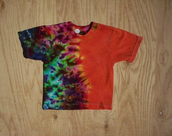 2T AutumnFire Tie Dye Toddler