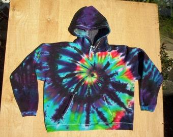Spiral Tie Dye Hoodie Size XL
