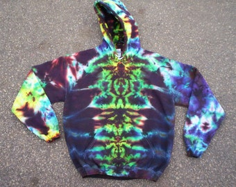 Earth Totem Tie Dye Hoodie Size Medium