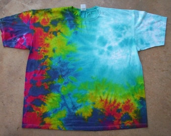 Abstract Tie  Dye Size 2X